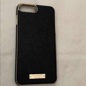 Kate Spade iPhone 8 Plus Saffiano Case